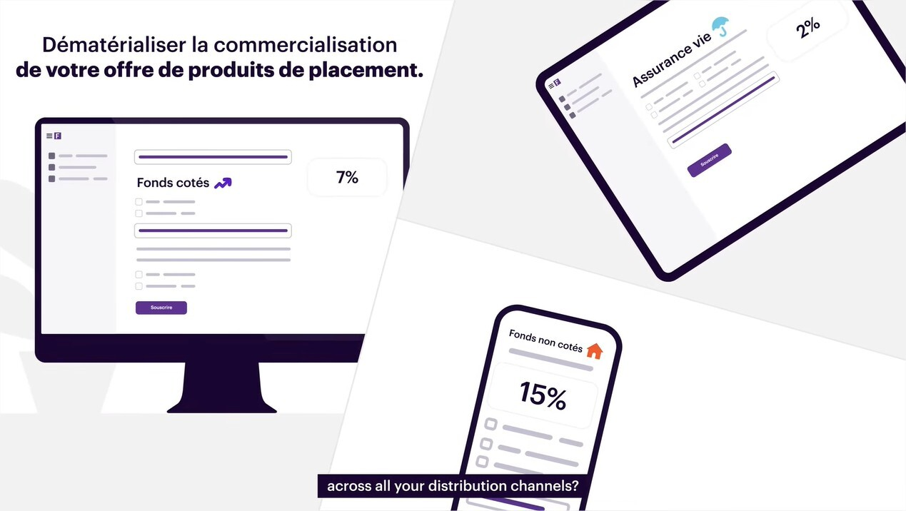 Create your white label platform to market your savings and investment products online.